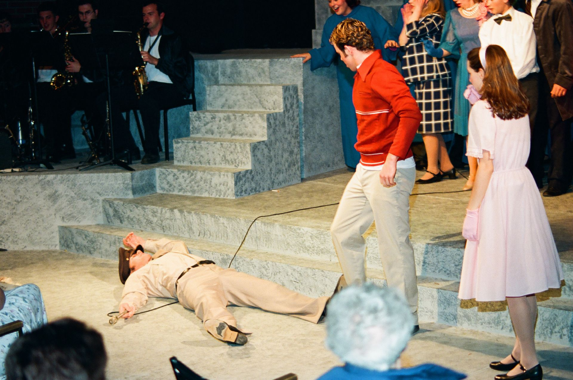 Carl Bishop, Patrick MacEachern and Rebecca Inch in Bye Bye Birdie