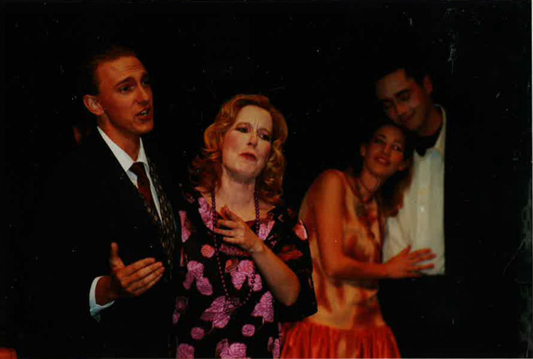 Chris Willott, Michele Gallant and Erin Madill in Cabaret