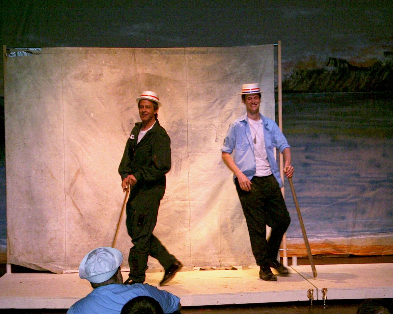 Greg Spielman and Dave Gagnier in South Pacific