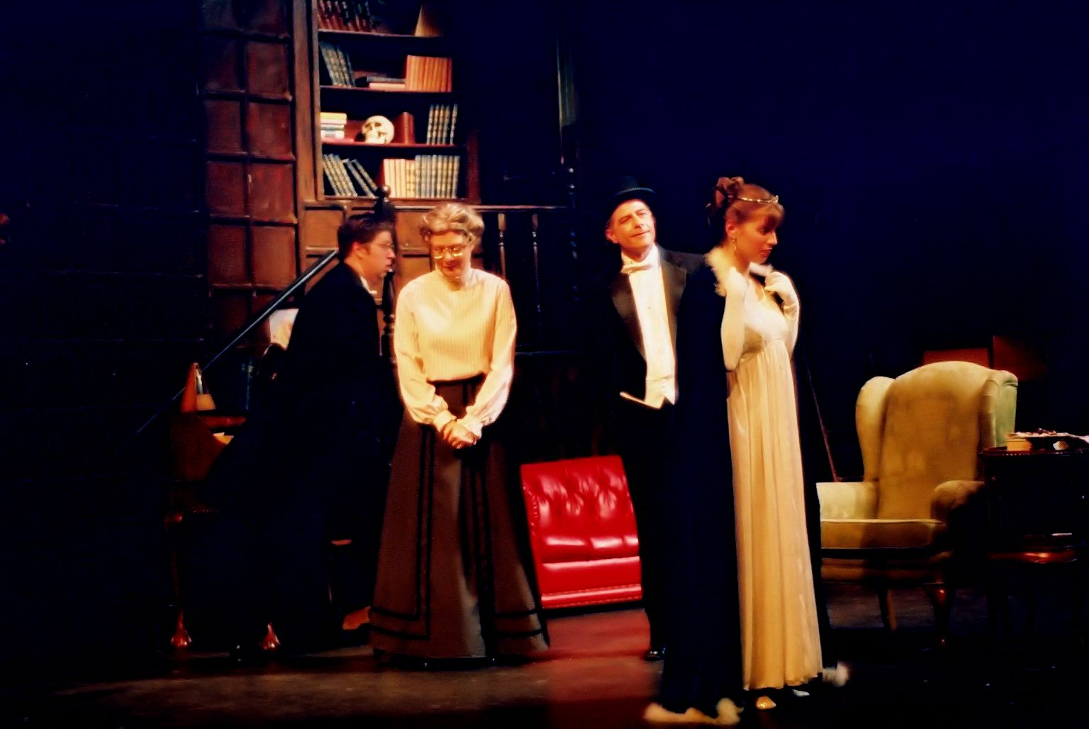 George Smith, Donna Barnfield, Howard Wright and Andrea Gordon in My Fair Lady