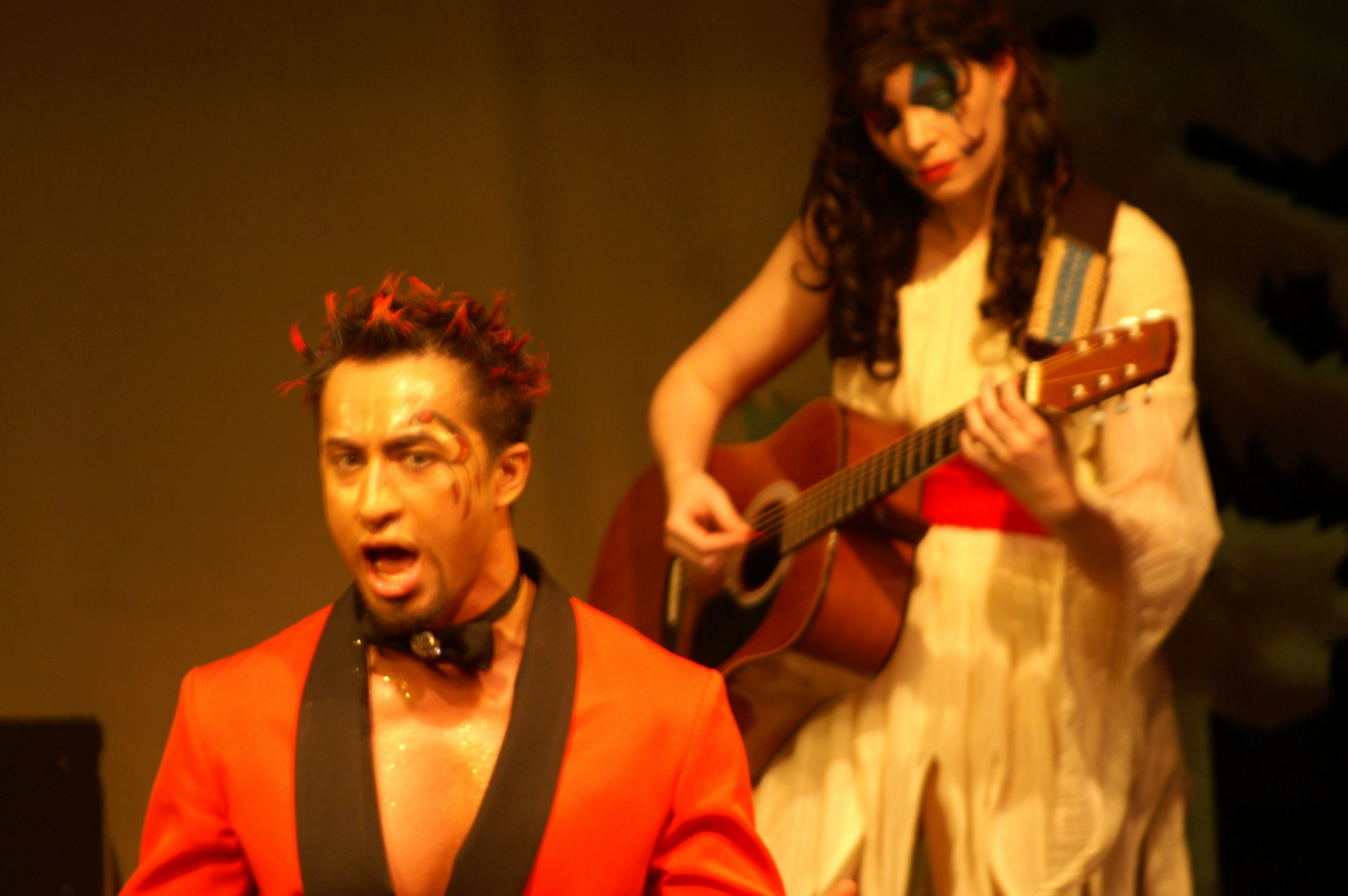 Levon Yon and Krista Willott in Pippin