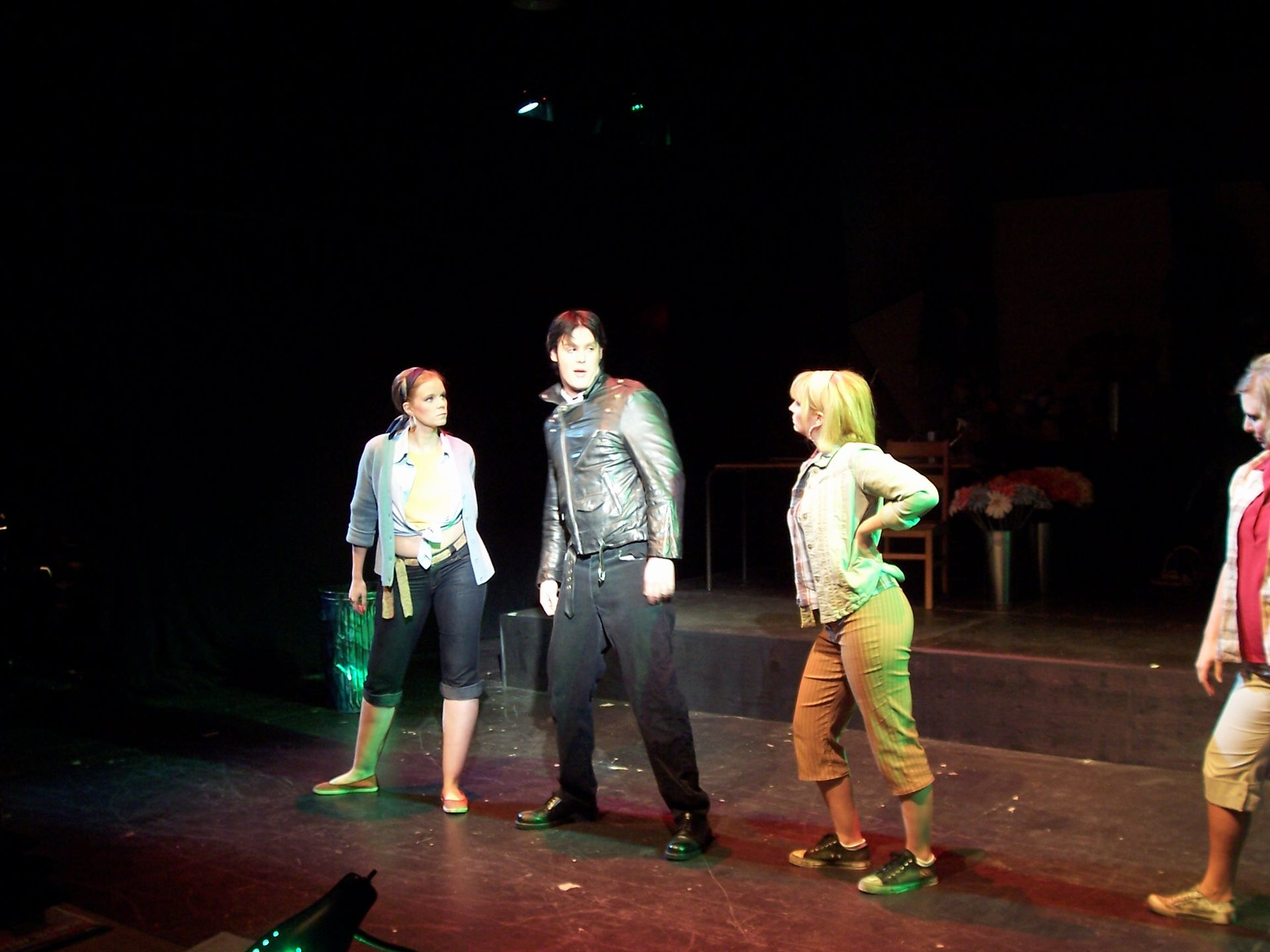 Krista Willott, Lindsay Robertson and Heather Oystryk in Little Shop of Horrors