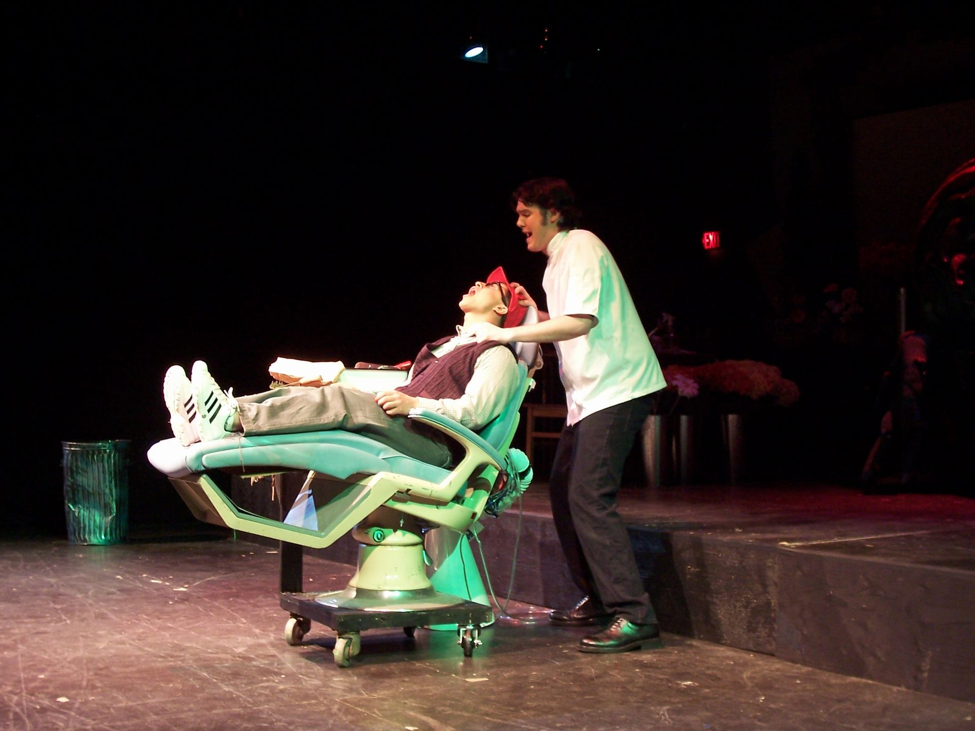 Levon Yon and Lindsay Robertson in Little Shop of Horrors