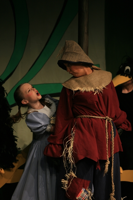 Natalie Mack and Heather Oystryk in Wizard of Oz