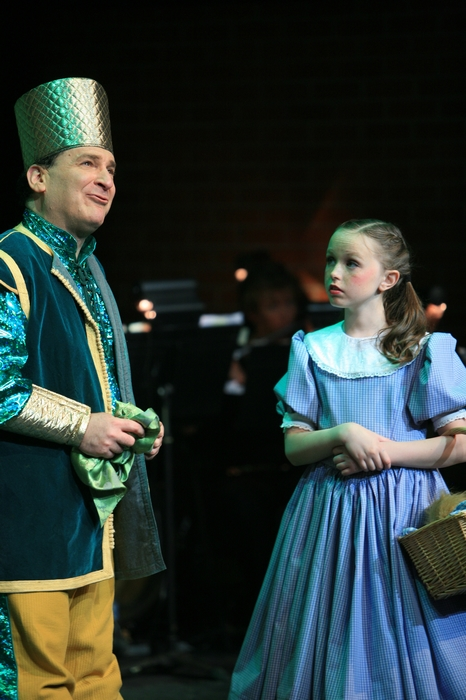 Gary Silberg and Natalie Mack in Wizard of Oz