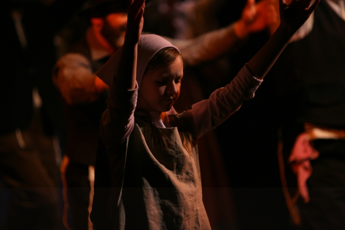 Natalie Mack in Fiddler on the Roof