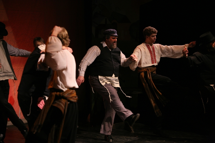Jim Fellows and David Wiens in Fiddler on the Roof