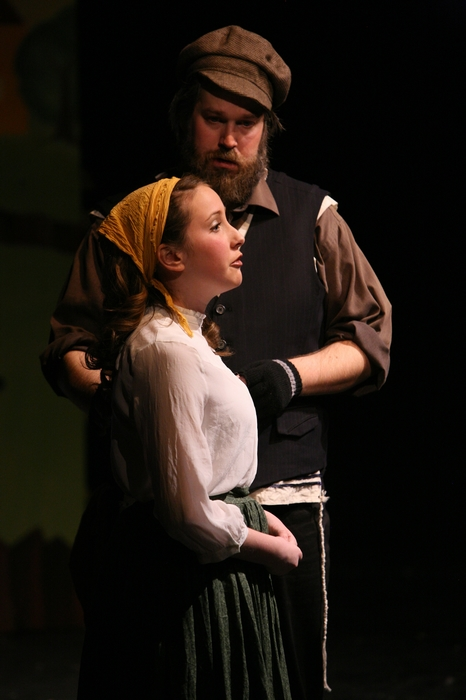 George Smith and Katie Miller in Fiddler on the Roof