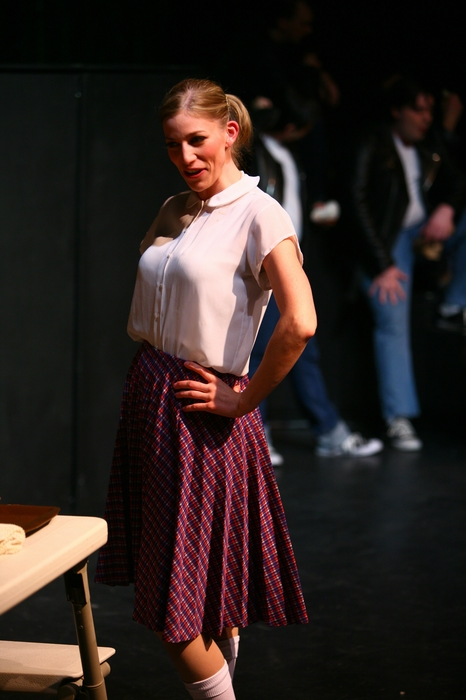 Erin Madill in Grease