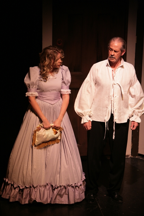 Krista Willott and Greg Spielman in Sweeney Todd: The Demon Barber of Fleet Street