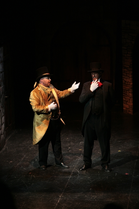 Jeremy Walker and Greg Spielman in Sweeney Todd: The Demon Barber of Fleet Street