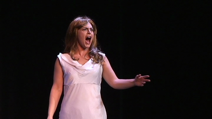 Naomi Williams in Forbidden Broadway's Greatest Hits