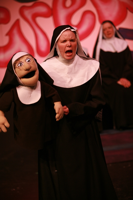 Krista Willott in Nunsense the Mega Musical