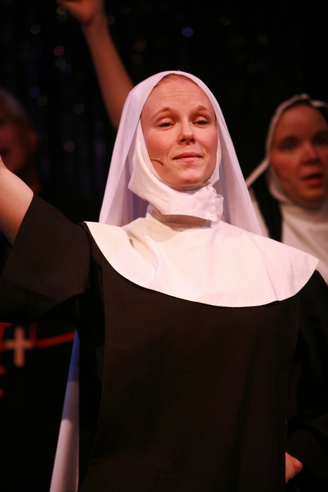 Andrea Gleason in Nunsense the Mega Musical