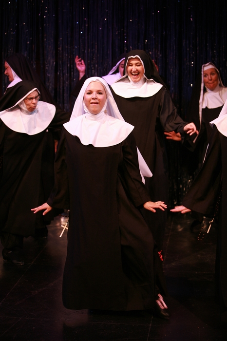 Kathy Lewis, Natalie Manz, Veronica Mack and Kerry Miller in Nunsense the Mega Musical