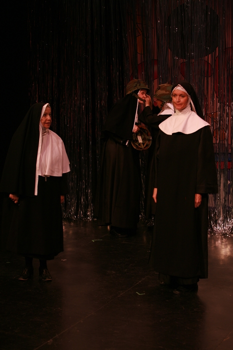 Marnie Patrick-Roberts and Barb Mitchell in Nunsense the Mega Musical