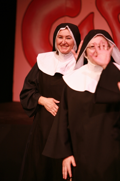 Veronica Mack and Cynthia Anderson in Nunsense the Mega Musical
