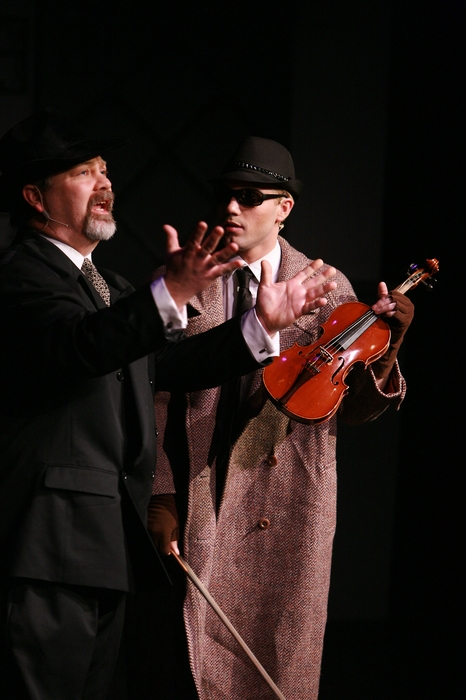Clark Adams and Mitchell Lukinuk in The Producers