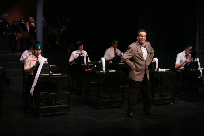 Matthew McDonald, Lindsay Harle, Brian Holiday, Gary Silberg and Marcus Bauer in The Producers