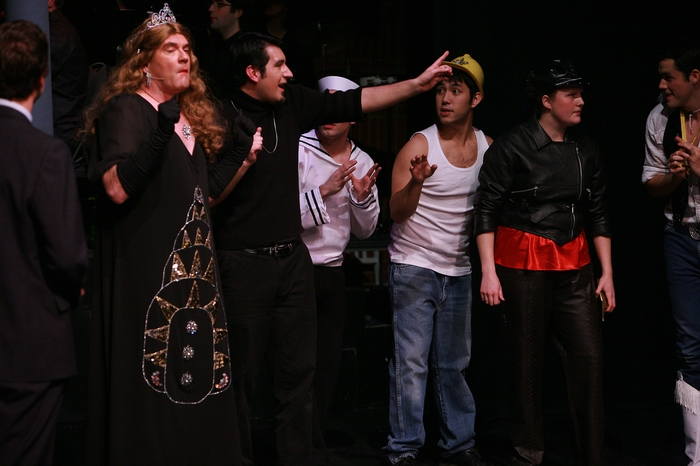 Brian Holiday, David Valentin Zapien Mercado, Matthew McDonald, Meg Thatcher and Marcus Bauer in The Producers