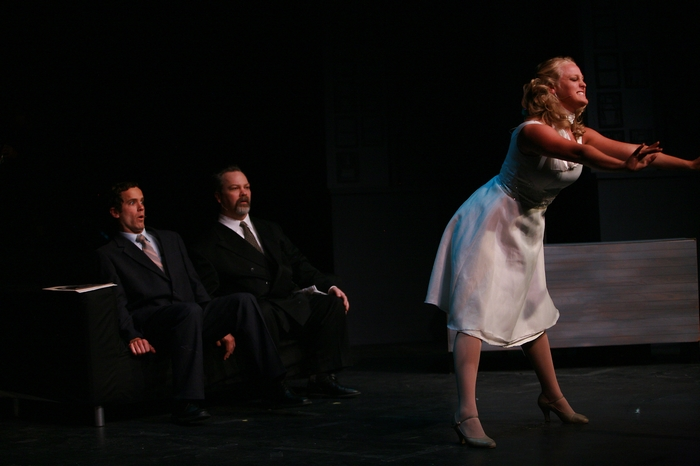 Riley Ohler, Clark Adams and Ainsley Ohler in The Producers