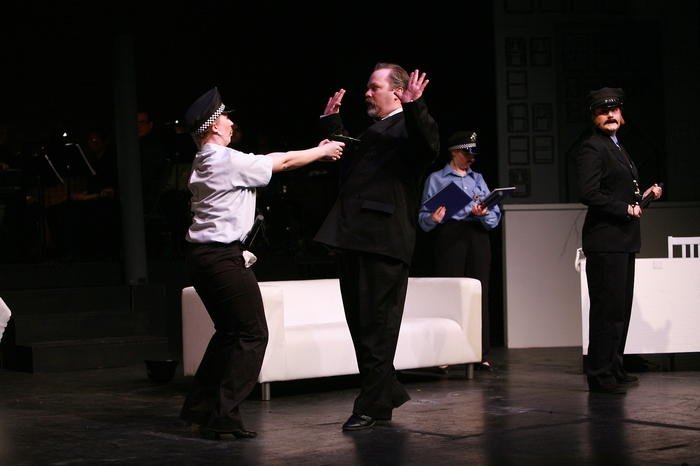 Rebecca Foster, Clark Adams, Jenifer Snell and Meg Thatcher in The Producers
