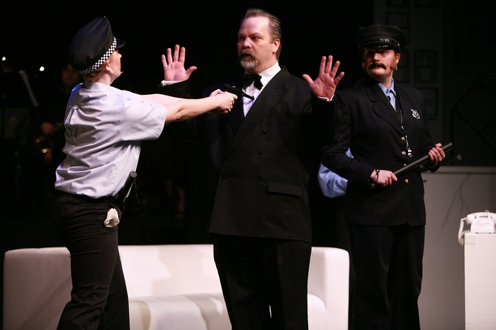 Rebecca Foster, Clark Adams and Meg Thatcher in The Producers