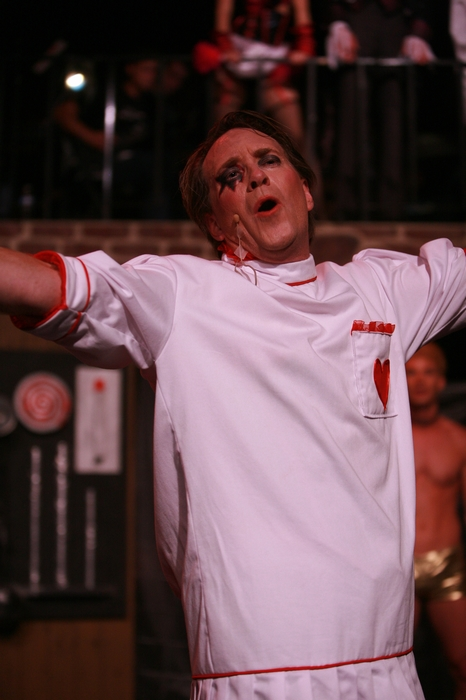 Michael Brown in Rocky Horror Show