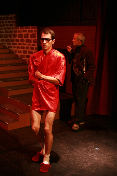 Kevin Trumble and Greg Spielman in Rocky Horror Show