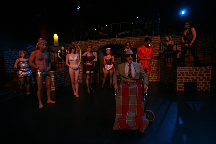Ginette Simonot, Doug Keeling, Janos Zeller, Angela Valiant, Michael Brown, Shana Nowlin, Roy Styan, Berkeley Pickell, Kevin Trumble, Danielle Desmarais and Cody Field in Rocky Horror Show