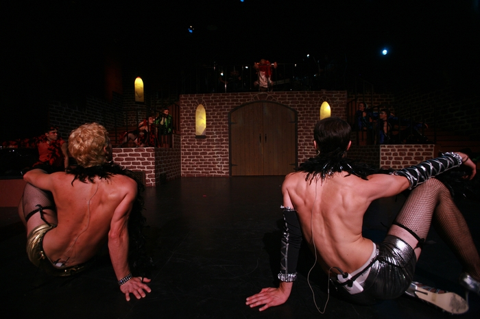 Doug Keeling and Kevin Trumble in Rocky Horror Show