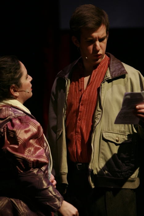 Tracy Smith and Nick Driscoll in Assassins