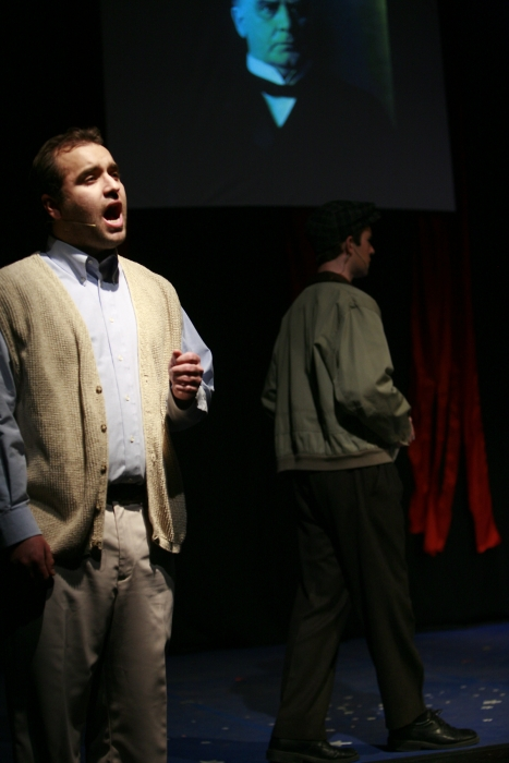 Nick Driscoll and Philip Frias in Assassins