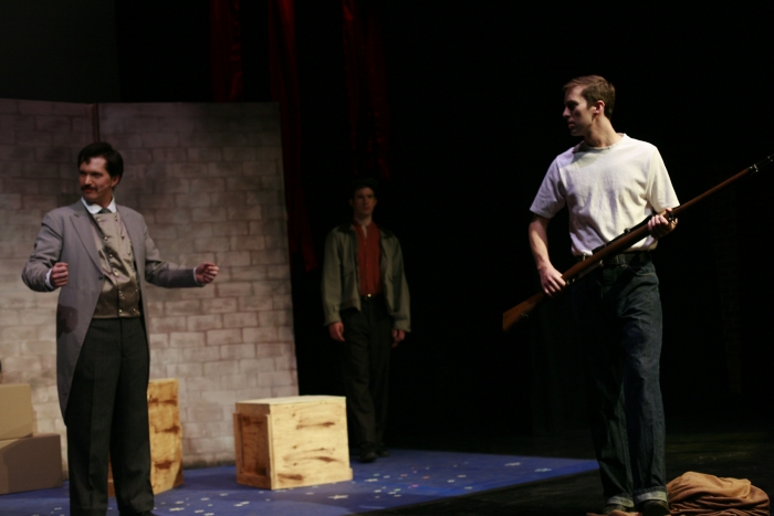 Janos Zeller, Nick Driscoll and Bryan Smith in Assassins