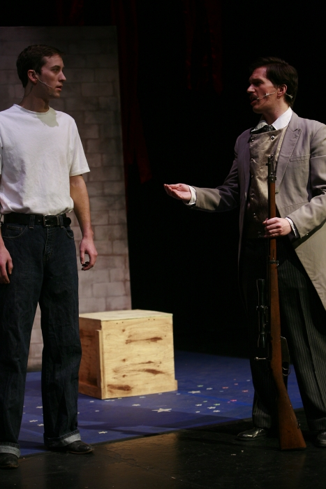 Bryan Smith and Janos Zeller in Assassins