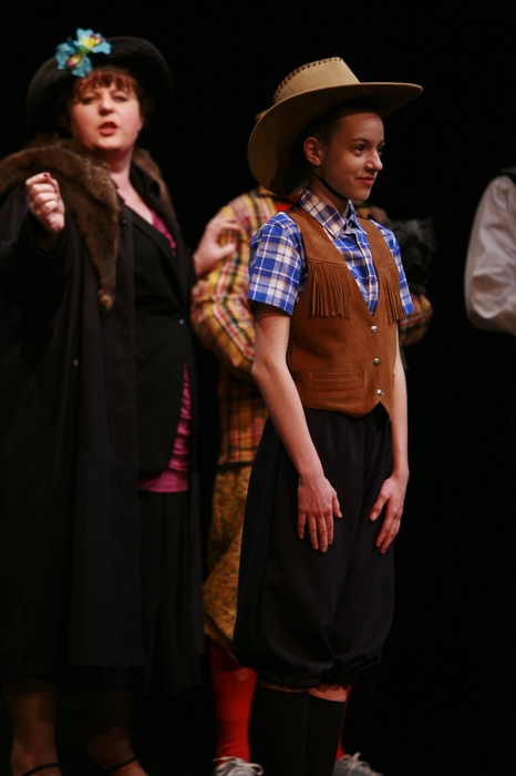 Tarra Riley and Grace Fedorchuk in Gypsy