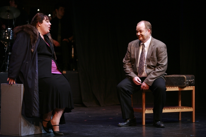 Tarra Riley and Scottie Grinton in Gypsy