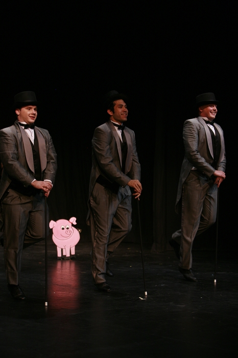Nicholas Chamberlain, Matthew McDonald and Charlie Deagnon in Gypsy