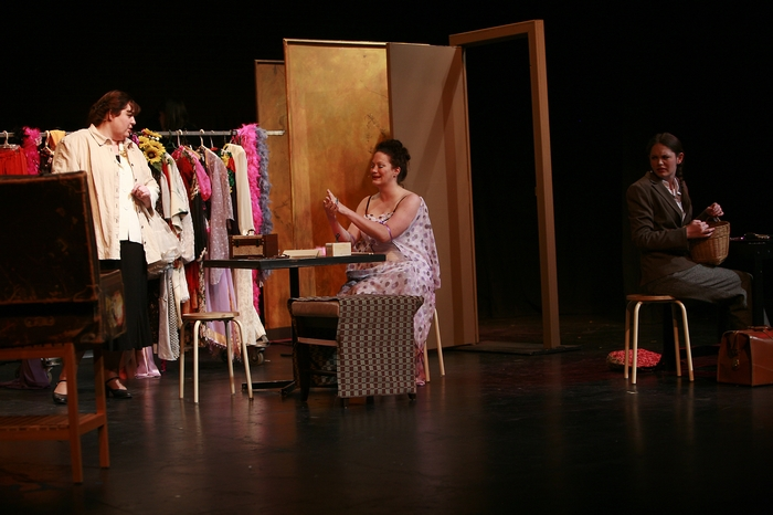 Tarra Riley, Lynette Newman and Emily Dallas in Gypsy
