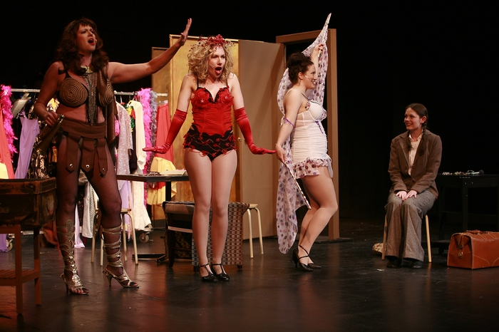Cherie Lee, Jenifer Snell, Lynette Newman and Emily Dallas in Gypsy