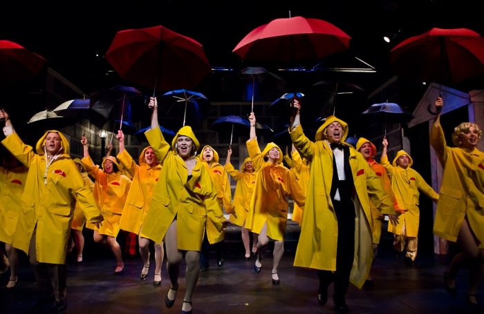 Graeme Humphrey, Tanis Laatsch, Jarryd Baine and Bethany McNab in Singin' in the Rain