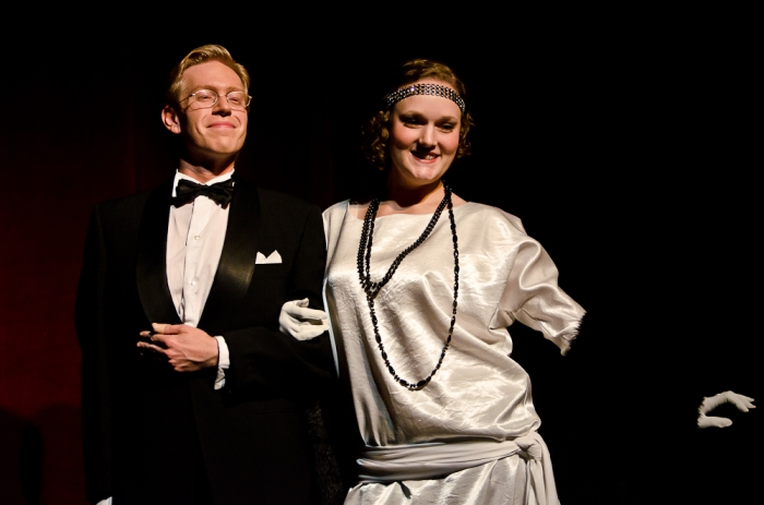 Jamie Eastgaard-Ross and Meg Thatcher in Singin' in the Rain
