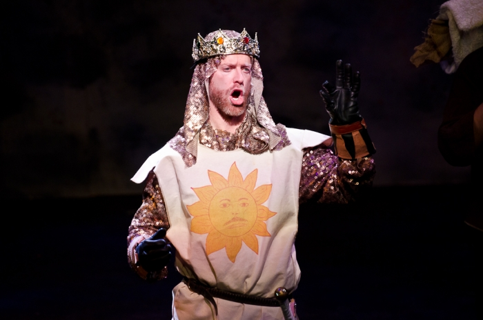 Mike Beattie in Monty Python's Spamalot