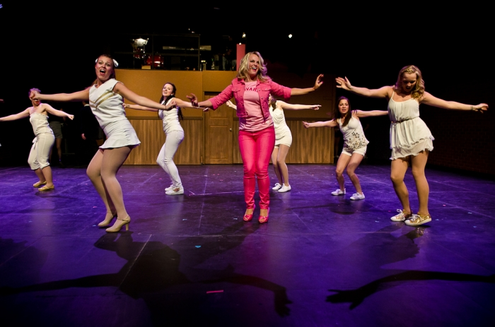 Tanis Laatsch, Ainsley Ohler and Eden Hildebrand in Legally Blonde