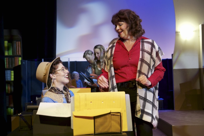 Meg Martin and Cherie Lee in 9 to 5 The Musical