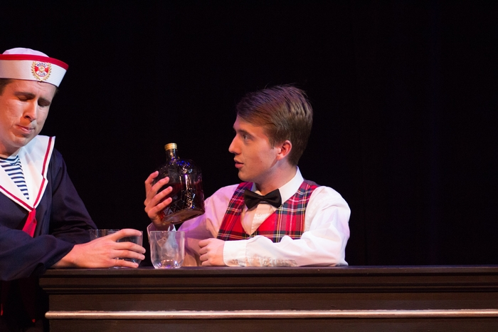 Cody Field and Evan Forbes in Anything Goes