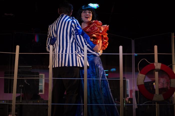 Tanis Laatsch and Darren Stewart in Anything Goes