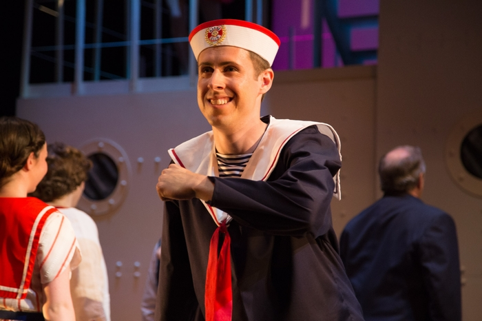 Cody Field in Anything Goes