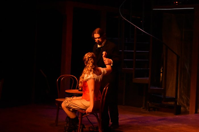 Tanis Laatsch and Josh Bailey in Jekyll & Hyde
