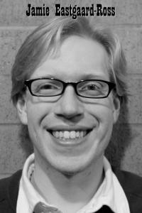 Jamie Eastgaard-Ross's Headshot from Forbidden Broadway's Greatest Hits